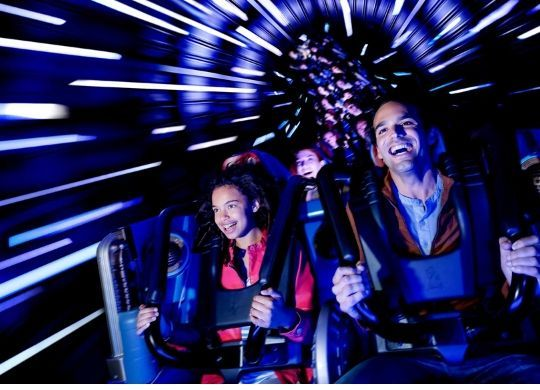 hyperspace mountain star wars attracktion disneyland parijs