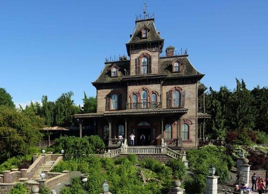 Phantom Manor Attraktion Disneyland Paris foto
