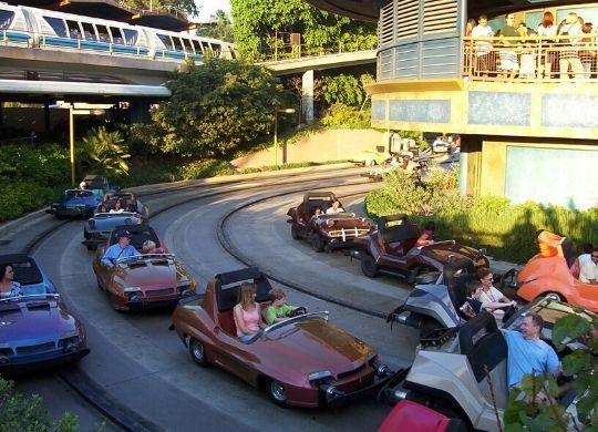autopia attraktion disneyland paris