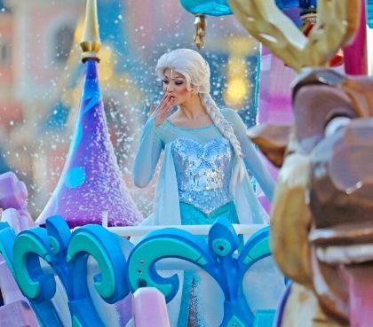 Magische Show Frozen Animation Celebration