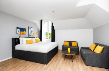 4-Bettzimmer Staycity Aparthotel