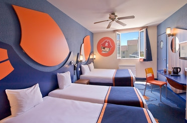 Hotelzimmer Explorers