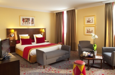 Magic Circus Fabulous Hotelzimmer